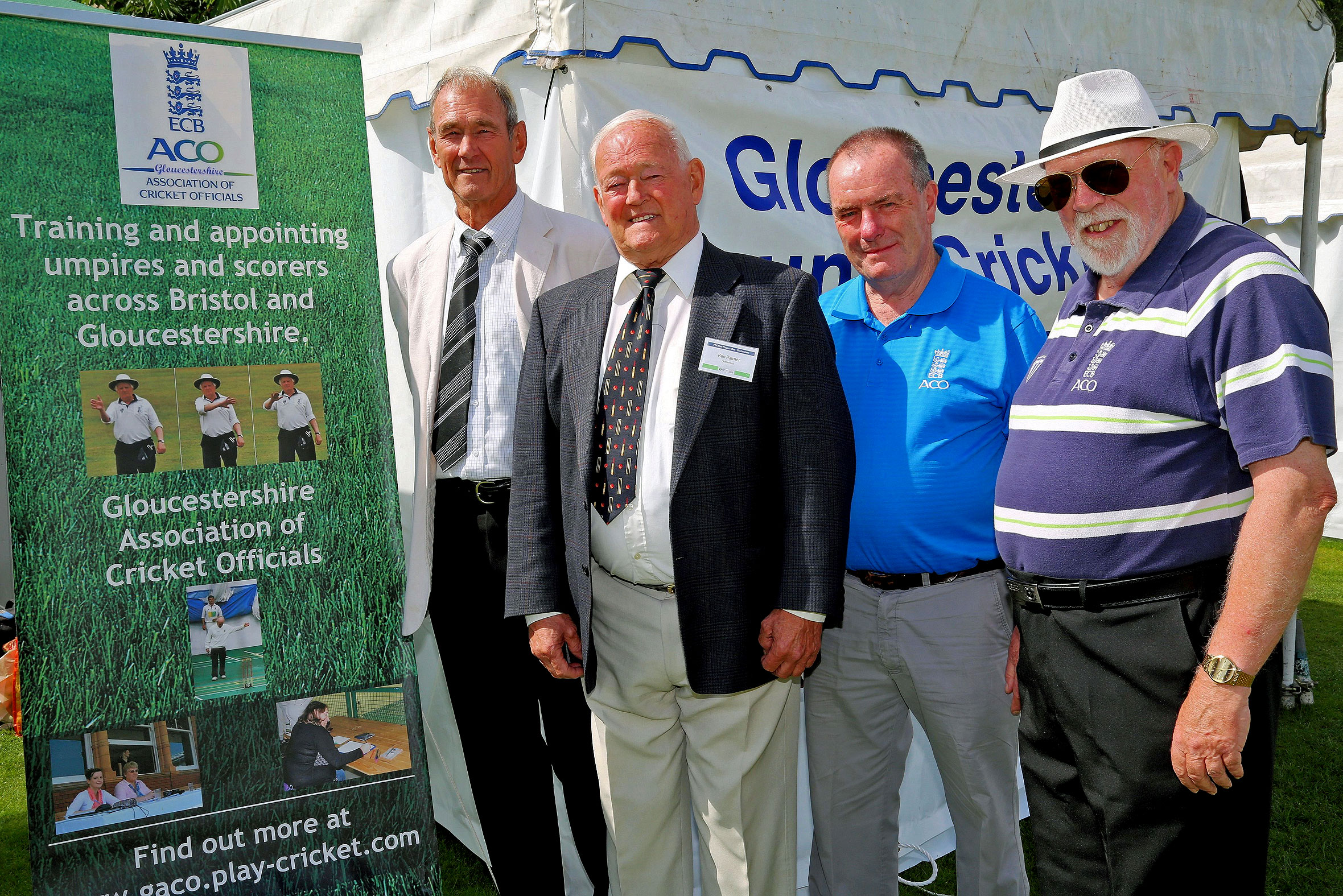 Former international umpires help Glos recruitment drive