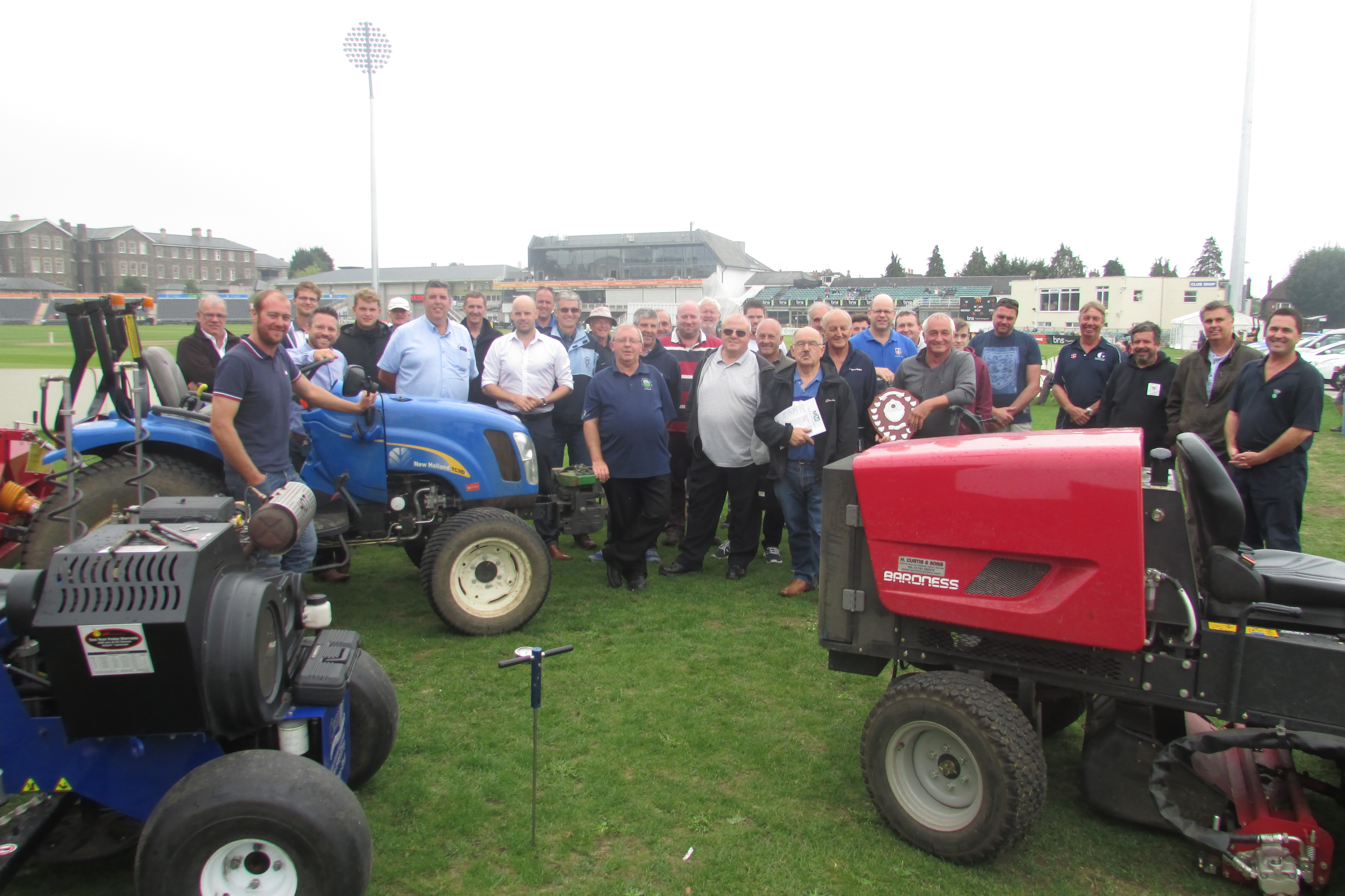 Downend's Mike Barfoot named Groundsman of the Year at GGA relaunch