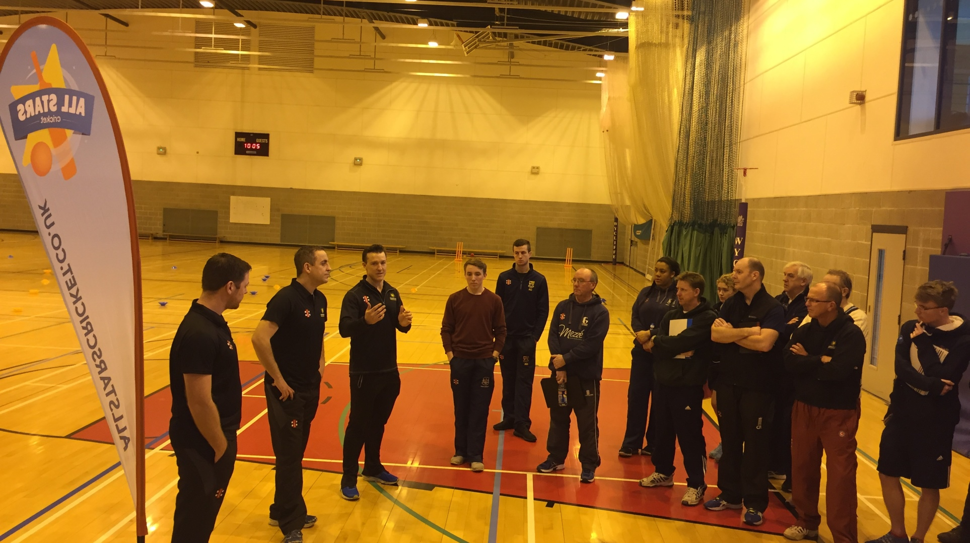 All Stars cricket workshop piloted at coach development day 2017 (with video)