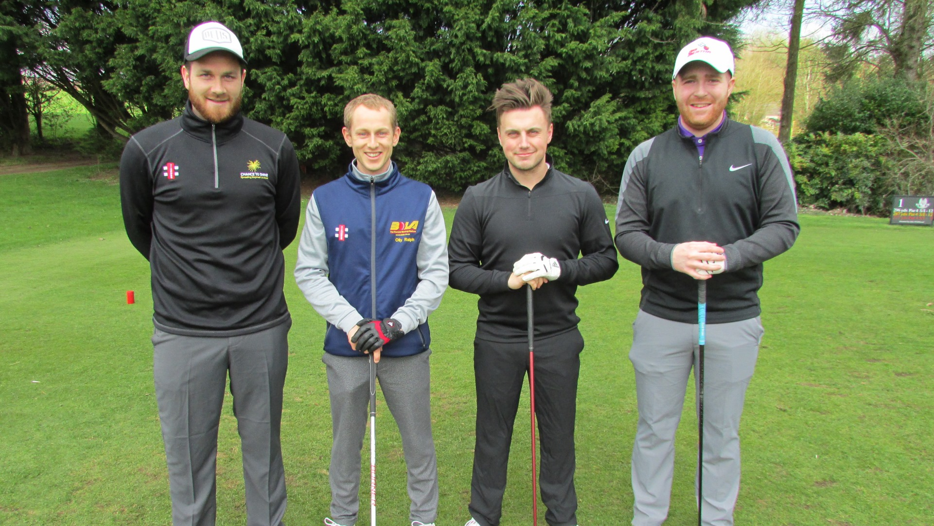 Golf day raises £4800 for schools' programme – with video