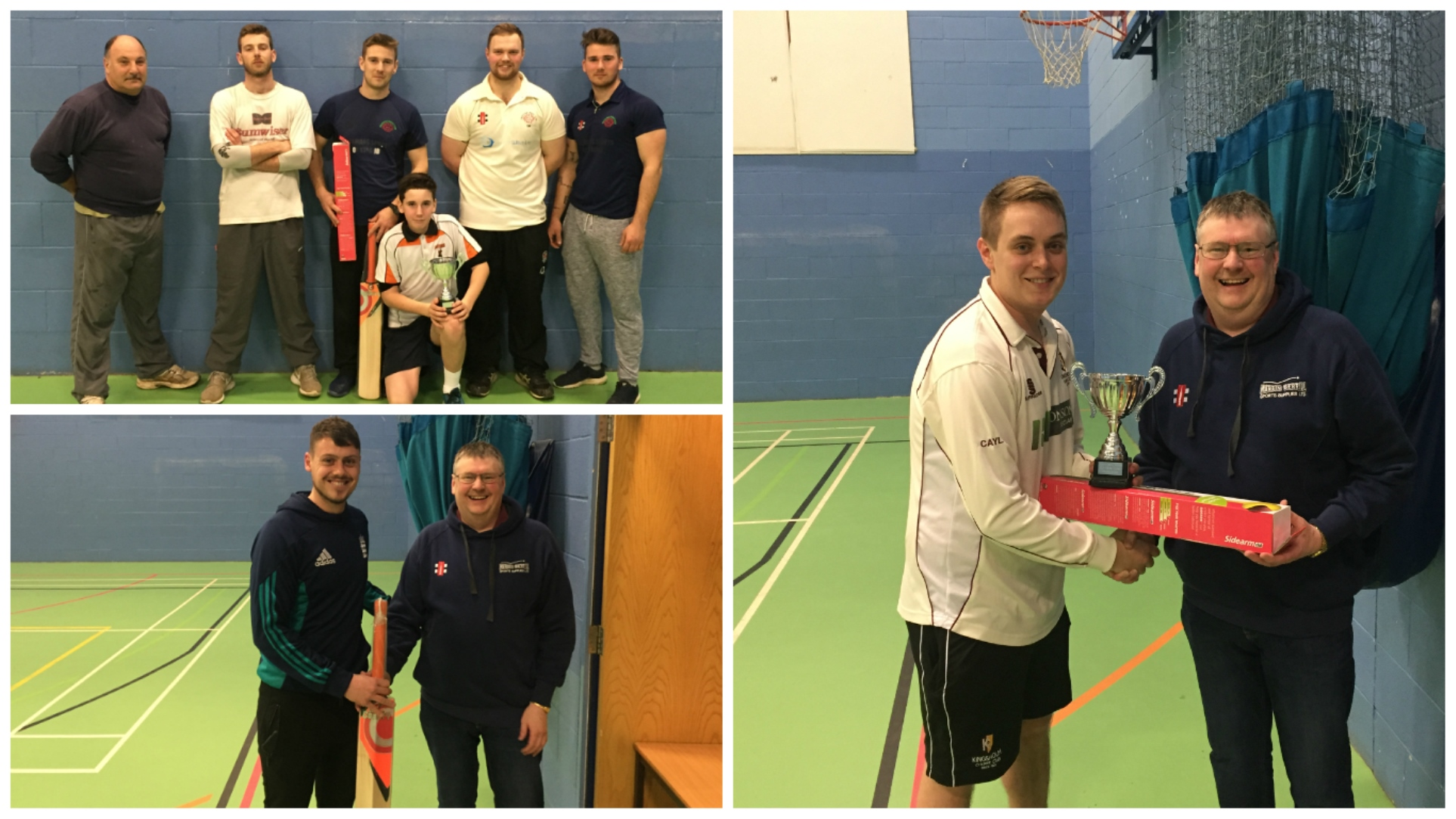 Will Gegg's on fire as Frocester claim indoor title