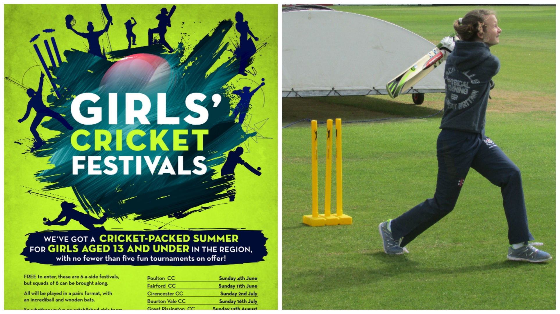Cotswolds Under 13 Girls Festivals initiative launched