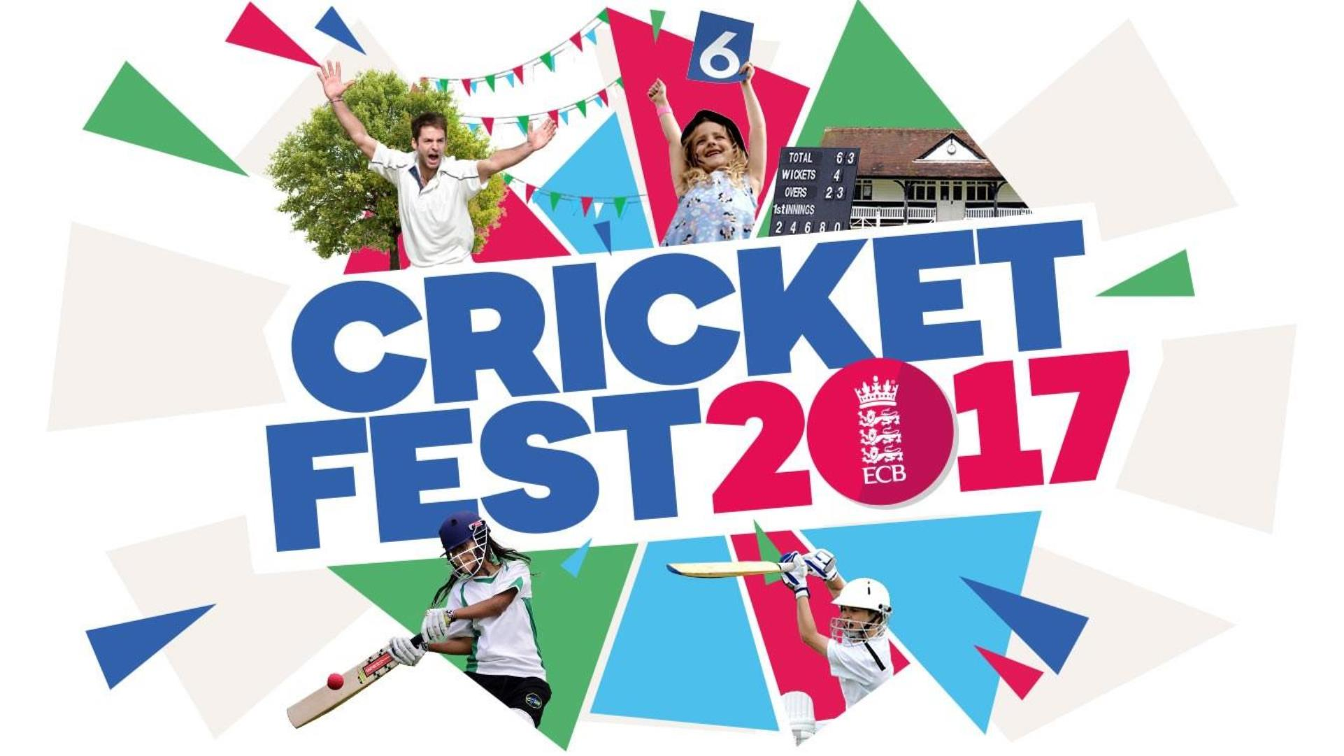 ECB urges clubs to sign up for CricketFest 2017