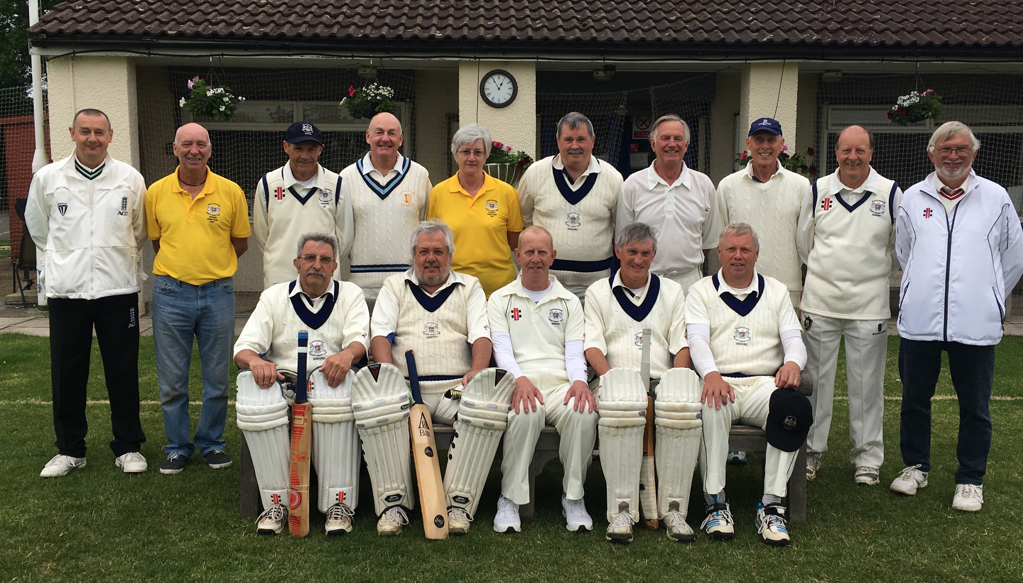Setback for Gloucestershire Over 60s 2nds against local rivals