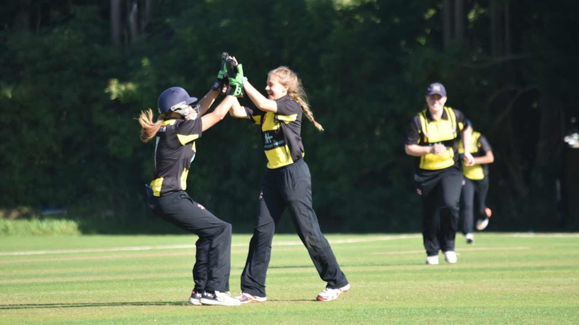 Latest Glos girls county match reports