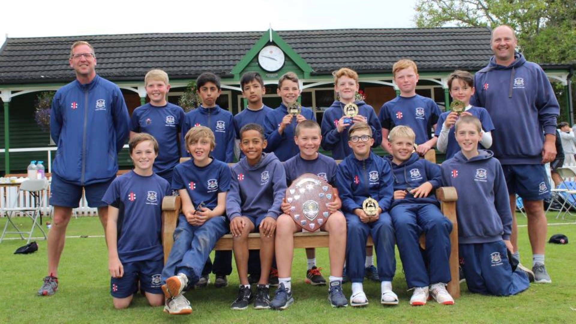 Under 12s secure first Taunton title