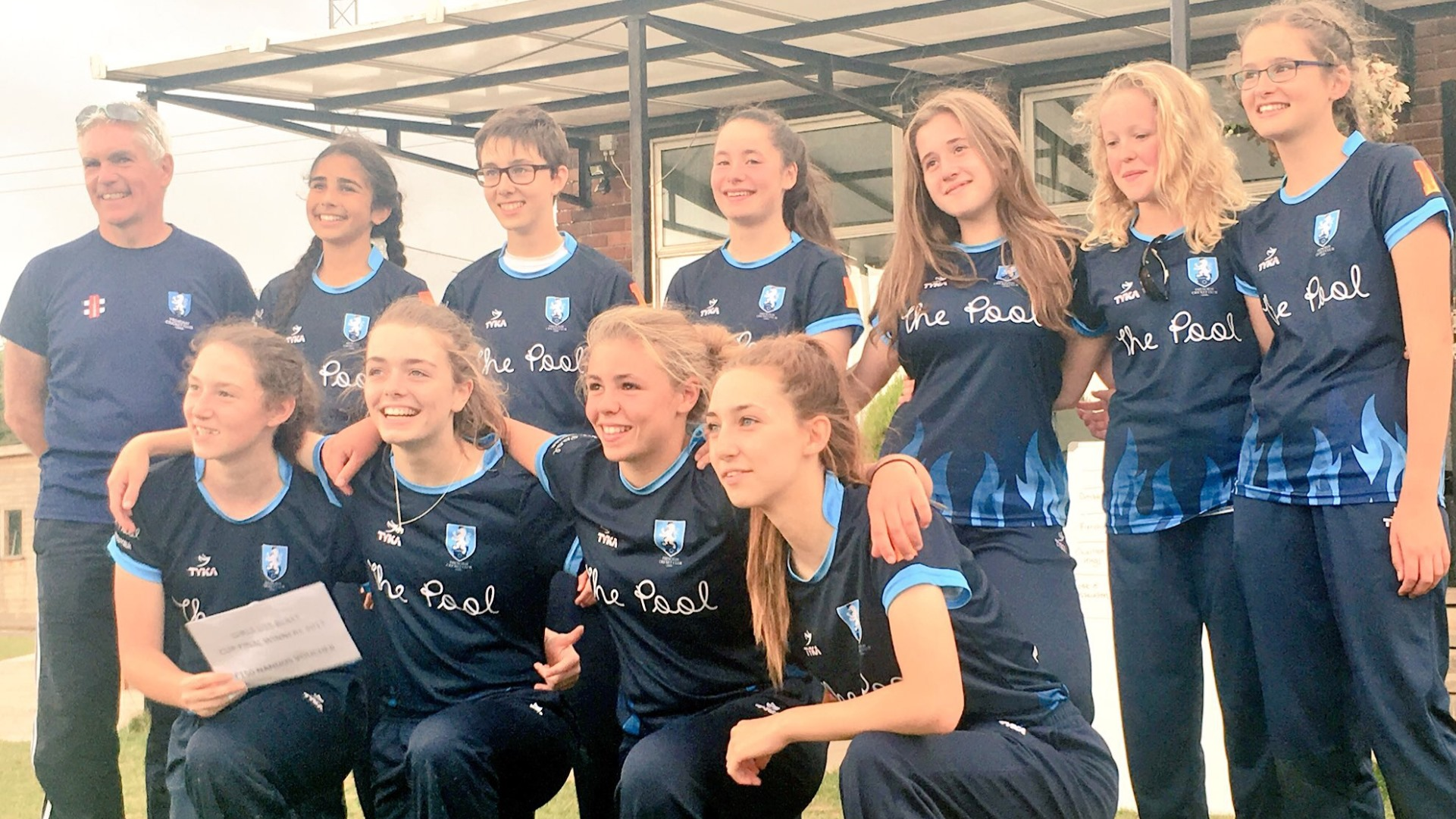Frenchay on fire as Flames win inaugural Girls Blast
