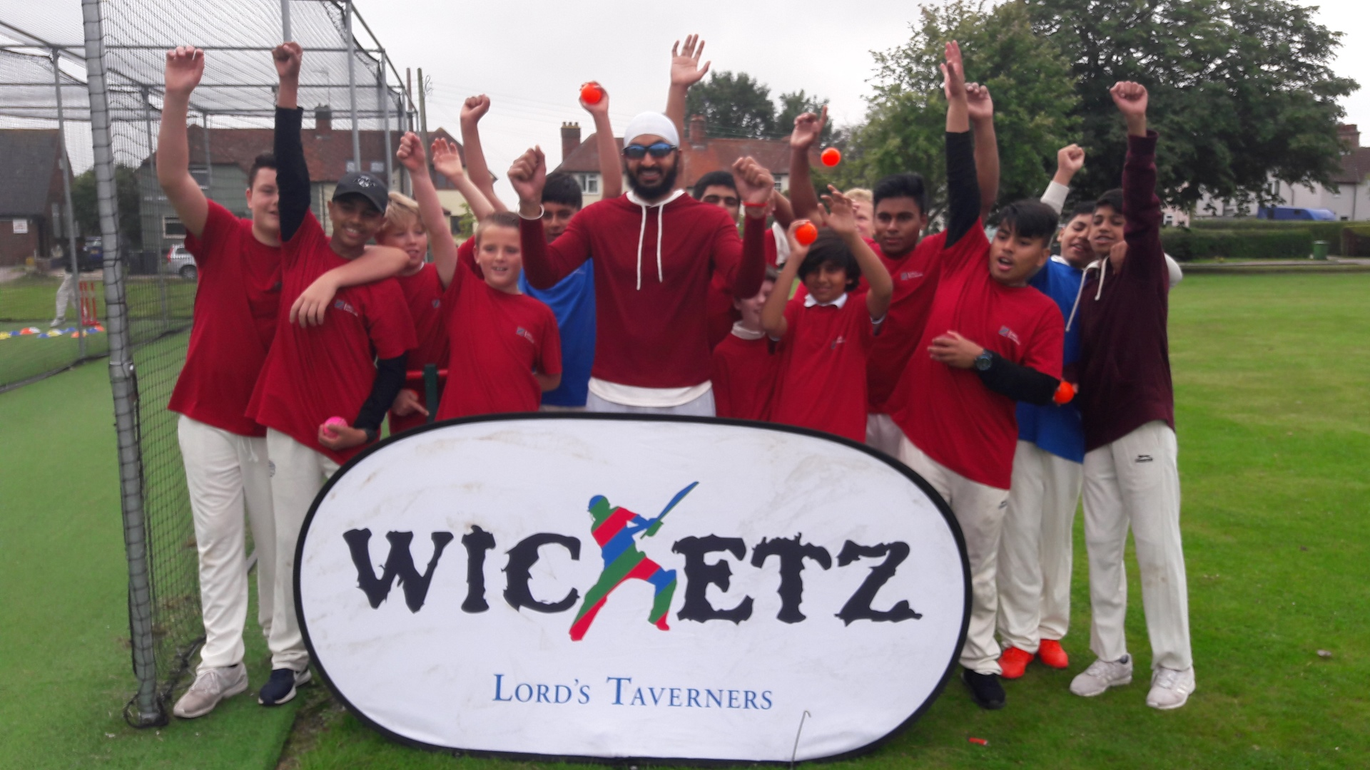 Bristol youngsters learn about cricket and life at Lord's Taverners Festival