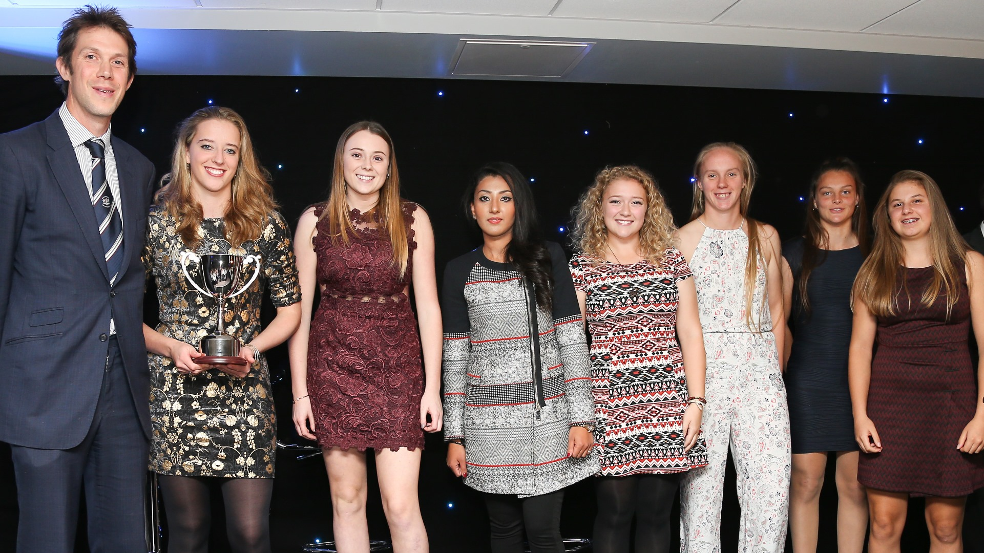 Evans named Gloucestershire Women's player of the year