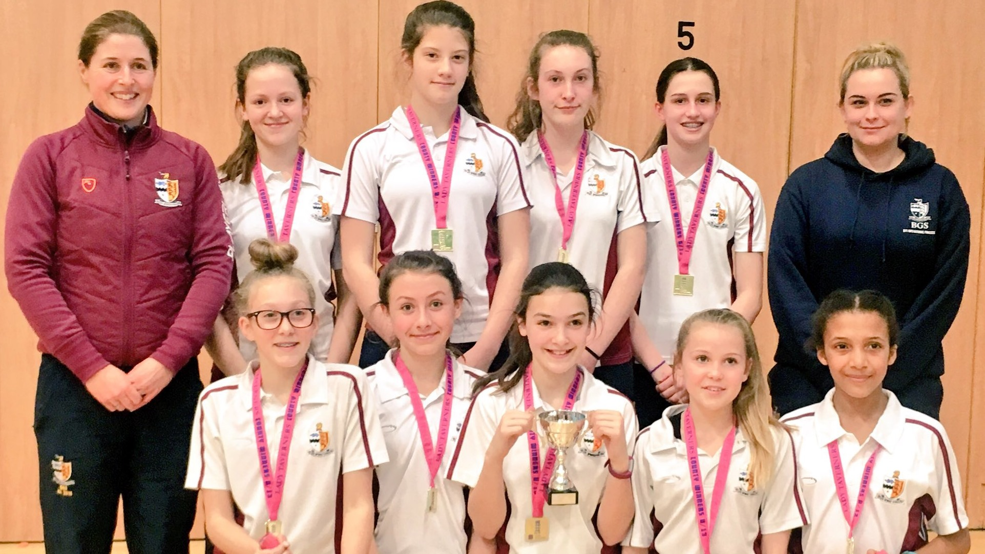 King's & BGS triumph in Lady Taverners competitions