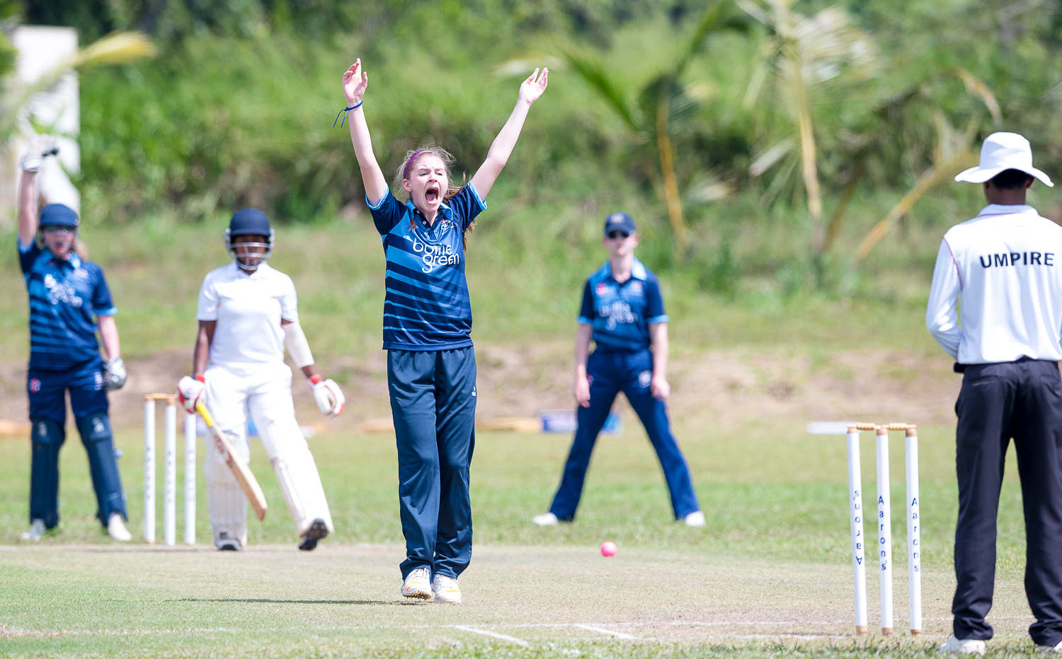 U17 girls lose T20 semi but triumph in 50 over local derby