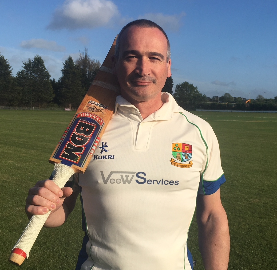 David marks his comeback to cricket with a stirring maiden century!