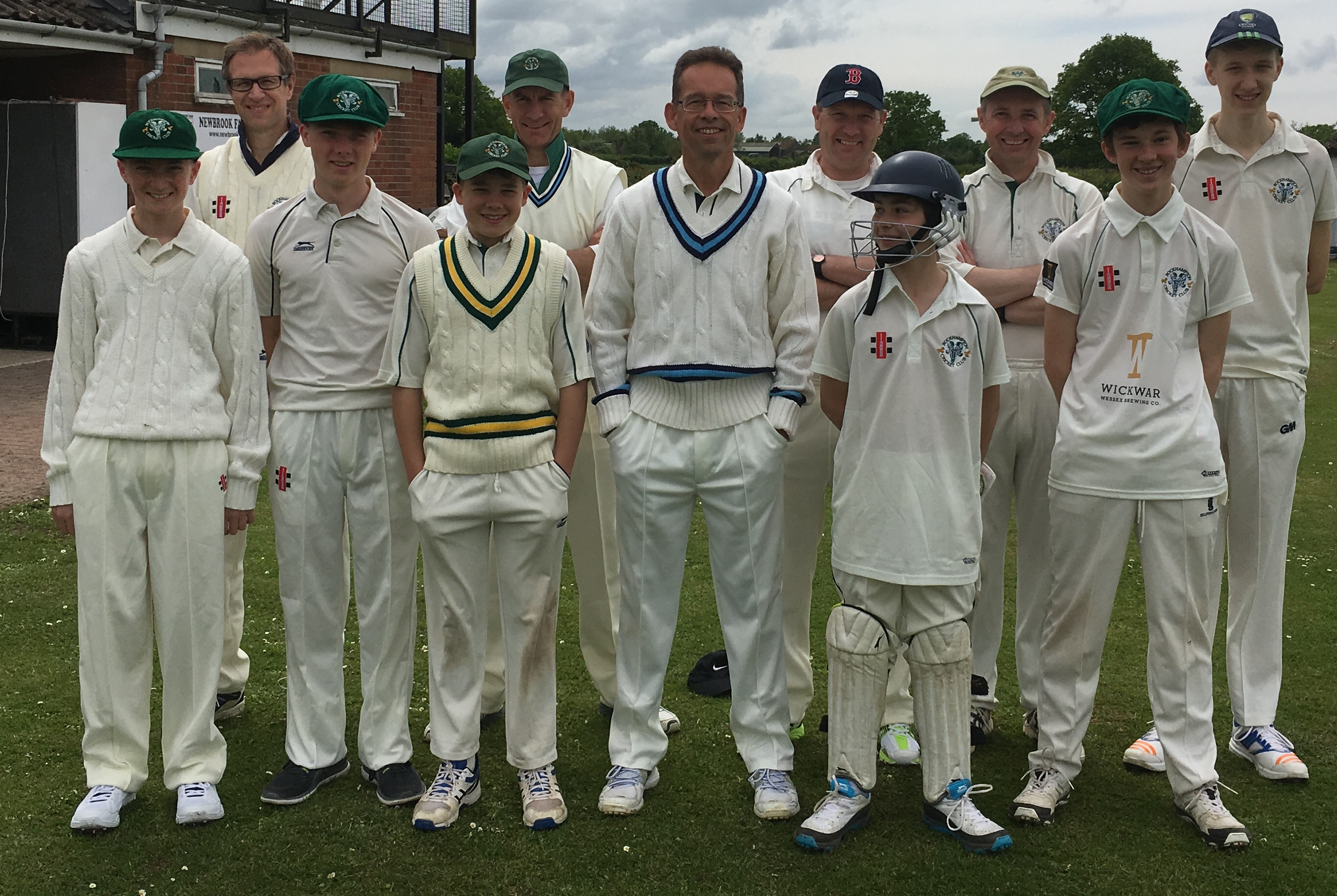 Dads and lads team up at Rockhampton
