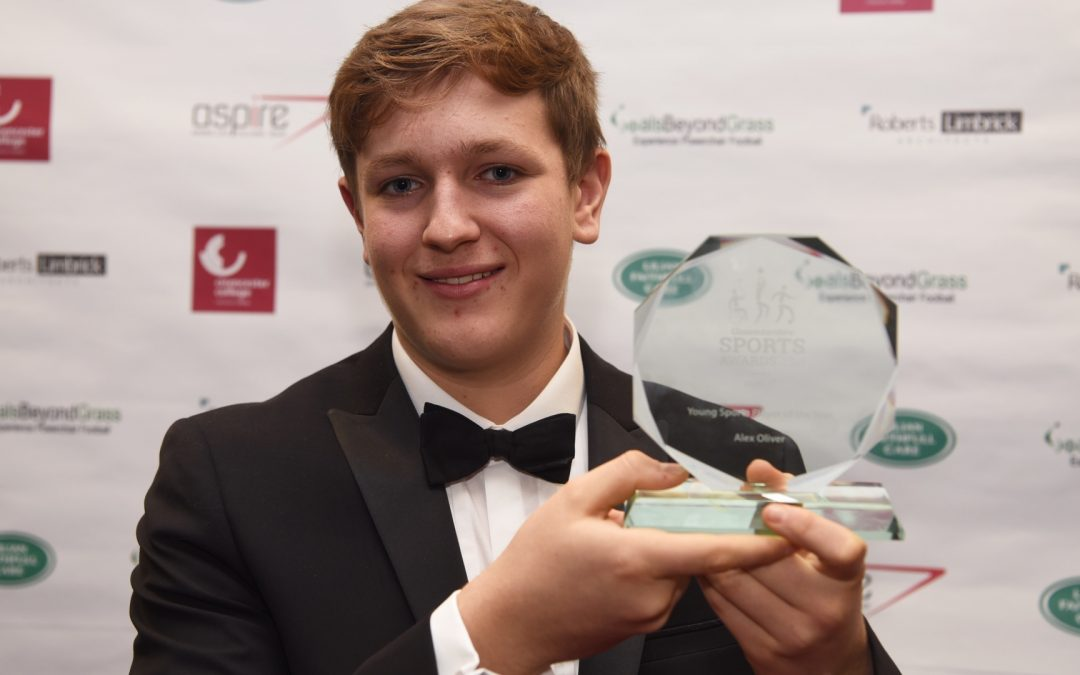 Tewkesbury's Oliver wins Glos Sports Award