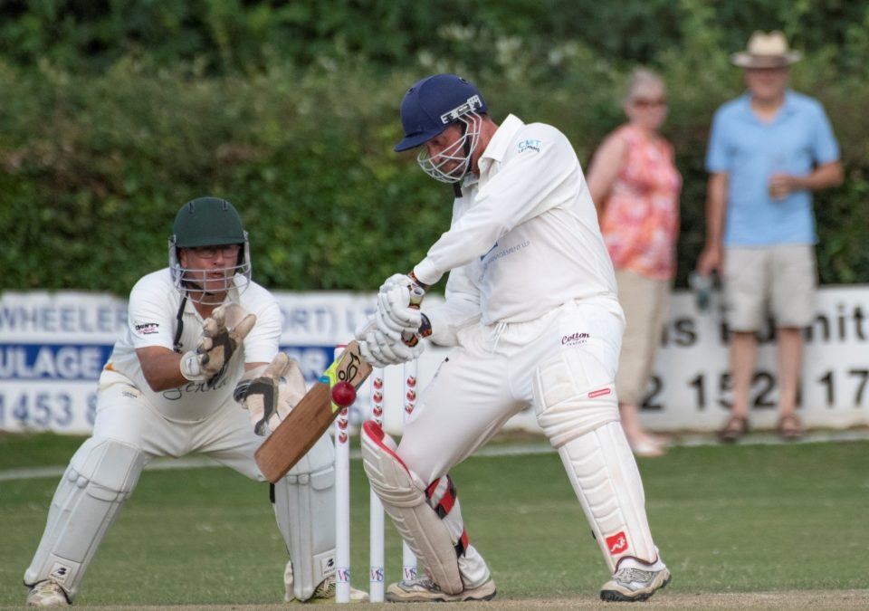 Alleyne stars with ball and then bat as Gloucestershire Over 50s reach last eight