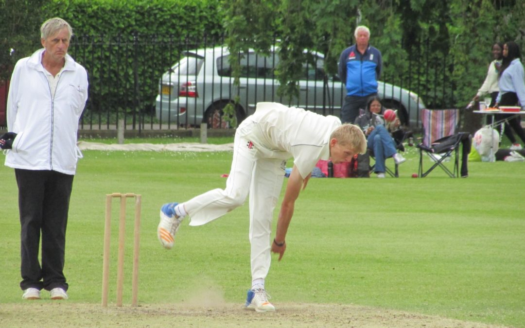 U15 boys go top with perfect start to ECB Cup