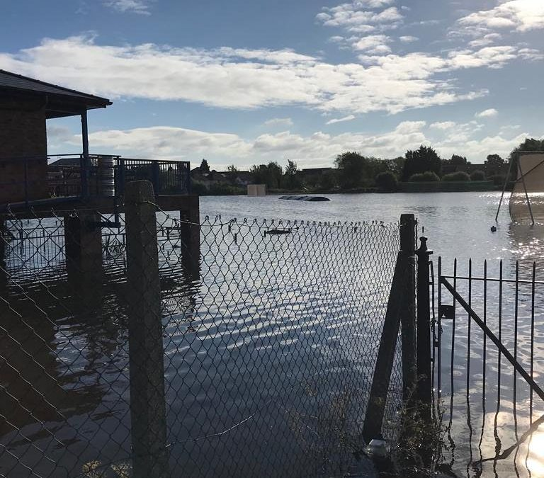Flooding: ECB support for affected cricket clubs