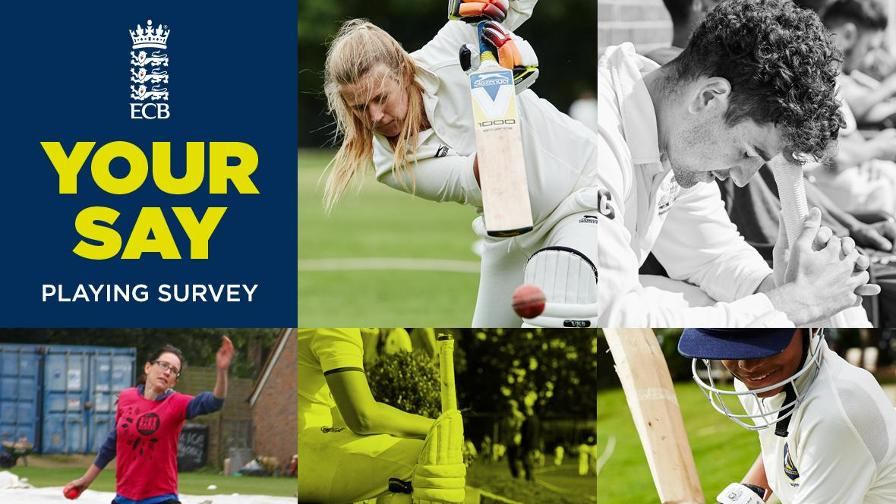 ECB Cricket Playing Survey 2019 is now live