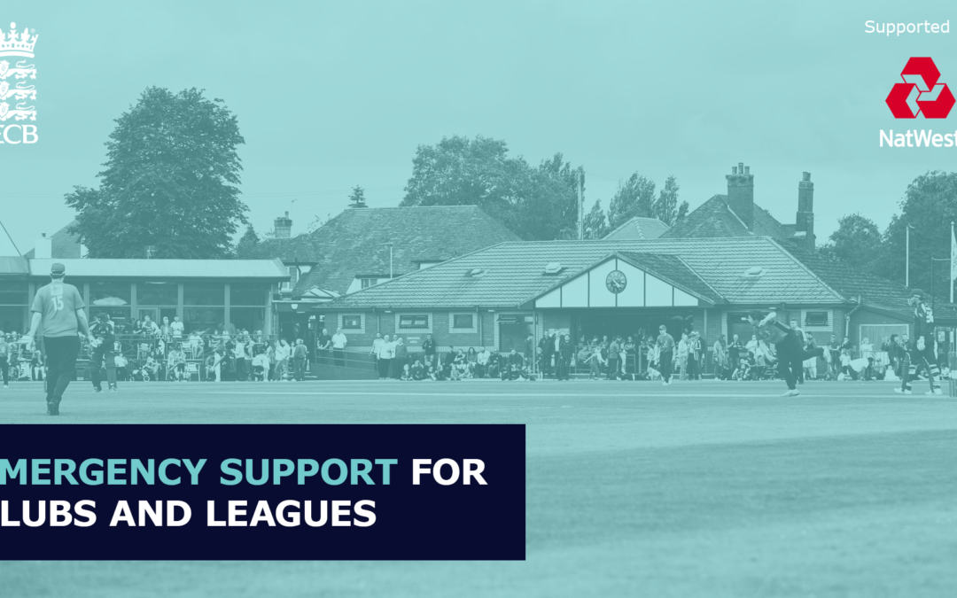 ECB Launch Emergency Funding Support for Clubs and Leagues
