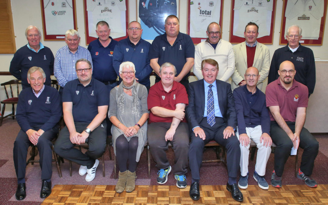 Umpires and Scorers recognised at 2019 GACUS Presentation Evening