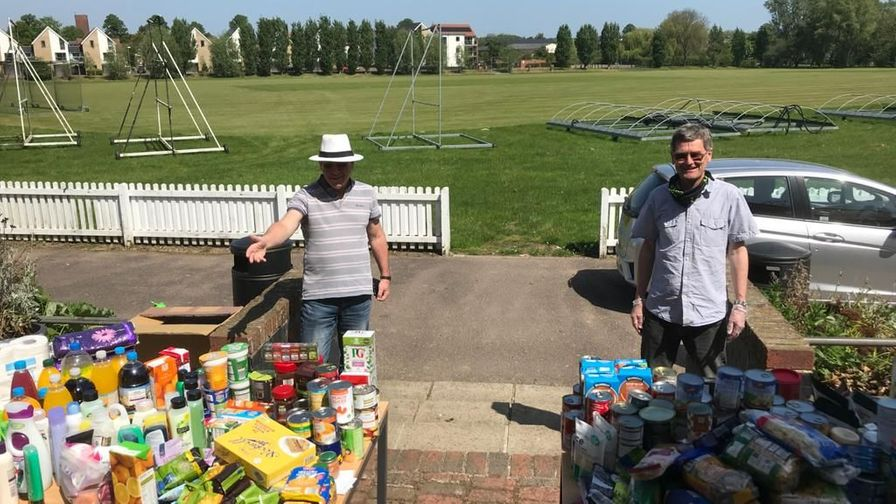 Cricket Tea-A-Thon: Help tackle food poverty in the UK