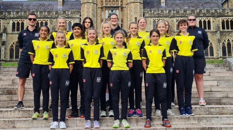 Gloucestershire Girls make the most of festival experience