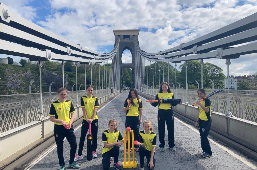 Gloucestershire girls taking cricket to new heights!
