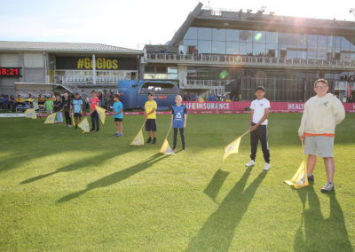 Gloucestershire v Hampshire - 13th August 2019 - Guard of Honour (5)