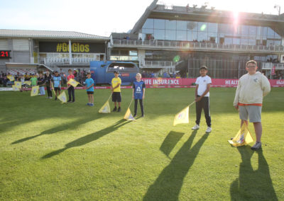Gloucestershire v Hampshire - 13th August 2019 - Guard of Honour (6)