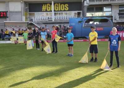 Gloucestershire v Hampshire - 13th August 2019 - Guard of Honour (7)