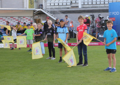 Gloucestershire v Hampshire - 13th August 2019 - Guard of Honour (8)