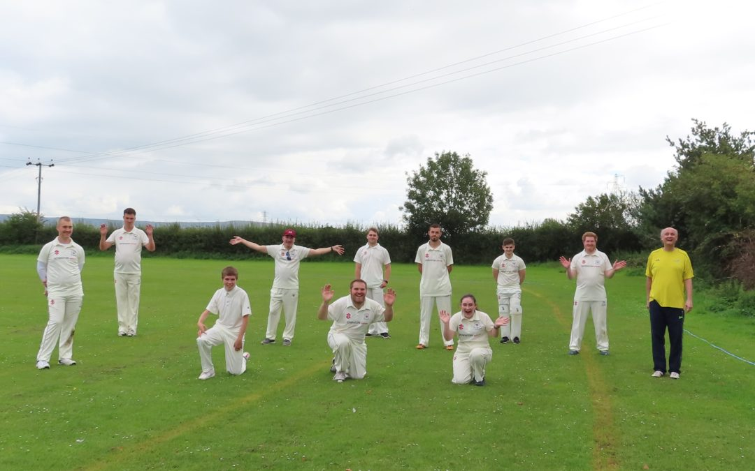 County Disabled Teams enjoy double header at Frampton-on-Severn CC