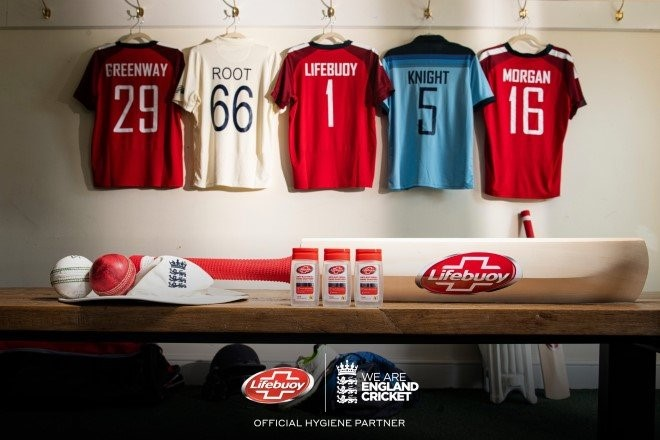 Hygiene brand Lifebuoy partners with ECB to support a safe return of the game