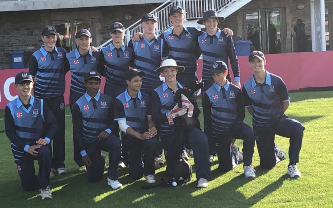 Elliott and Choughule fire Glos U15s into national semi final