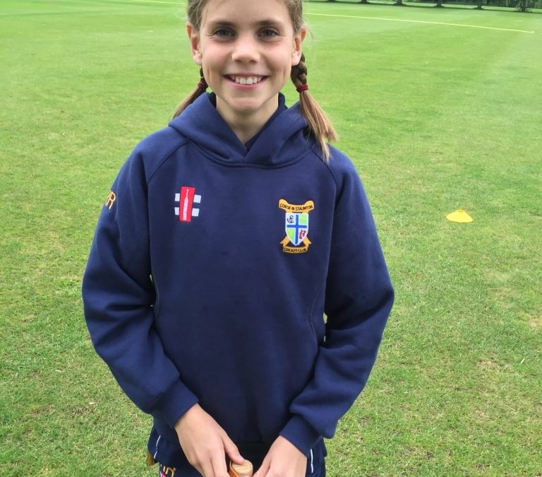 Rosie ready for dream training session with England Women!