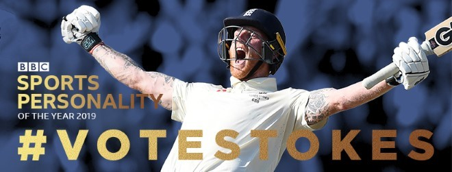 #VOTESTOKES – BBC Sports Personality of the Year 2019