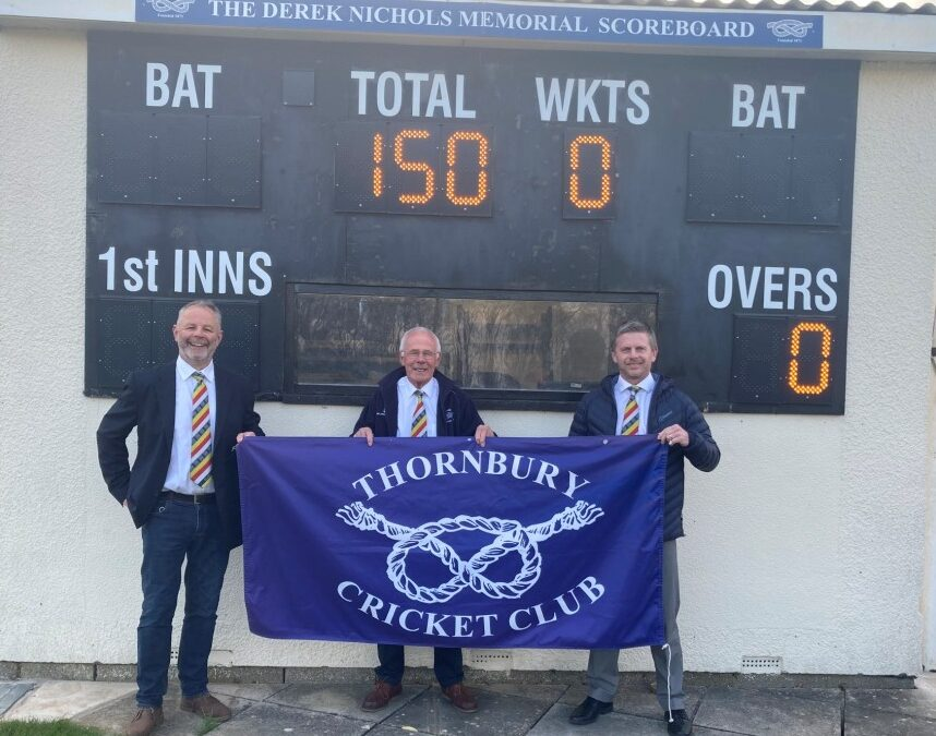 Thornbury aiming to celebrate their 150th anniversary in style