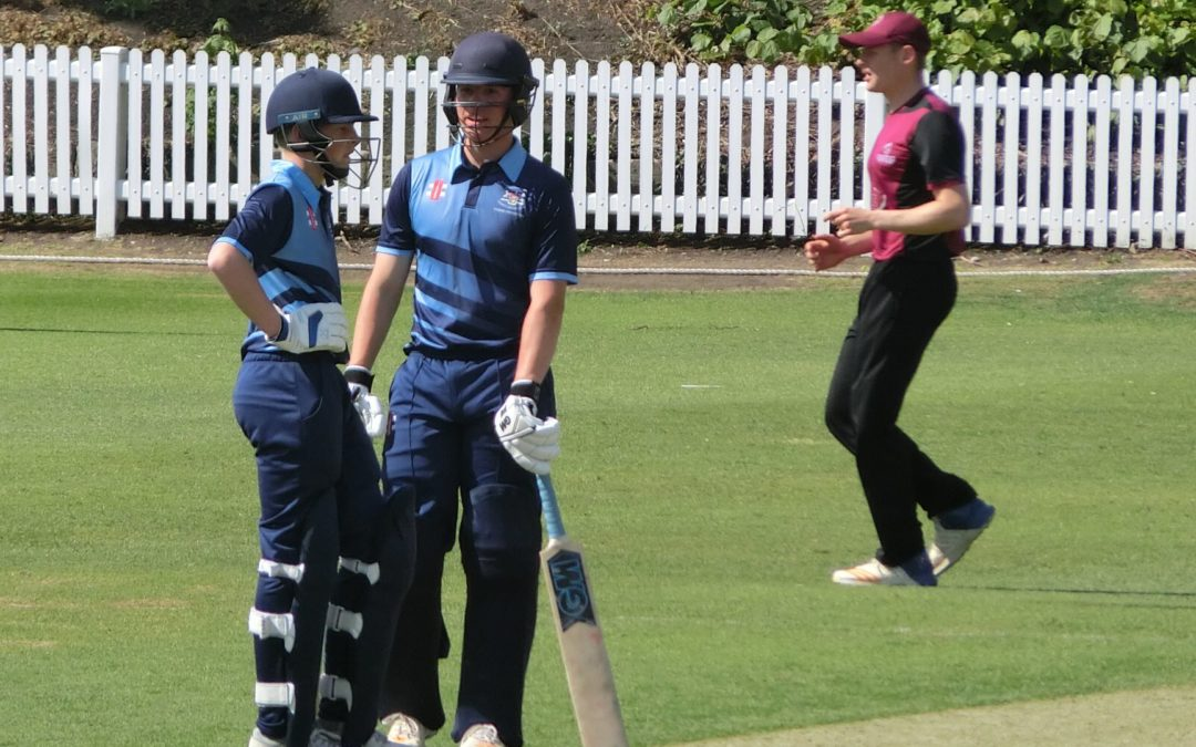 Batsmen impress for U17s in opening cup clashes