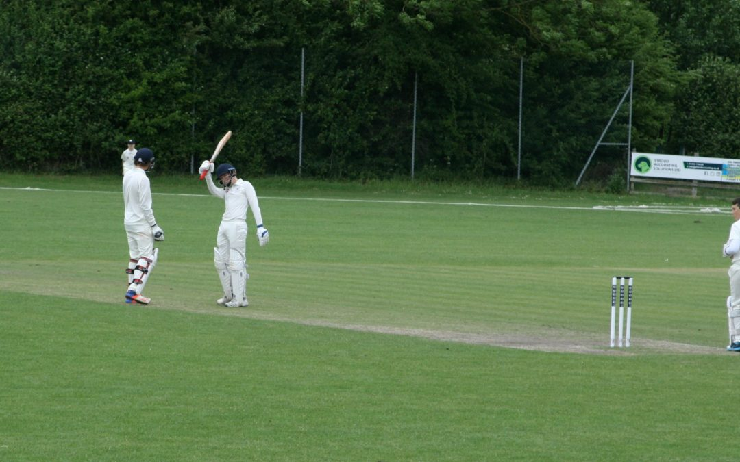 Boorman blasts record knock as U14 boys beat Worcestershire