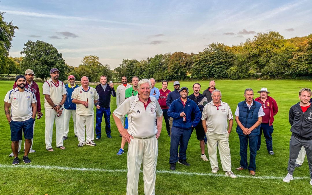 Tony signs off in style after 34 seasons as secretary of Ullenwood Bharat