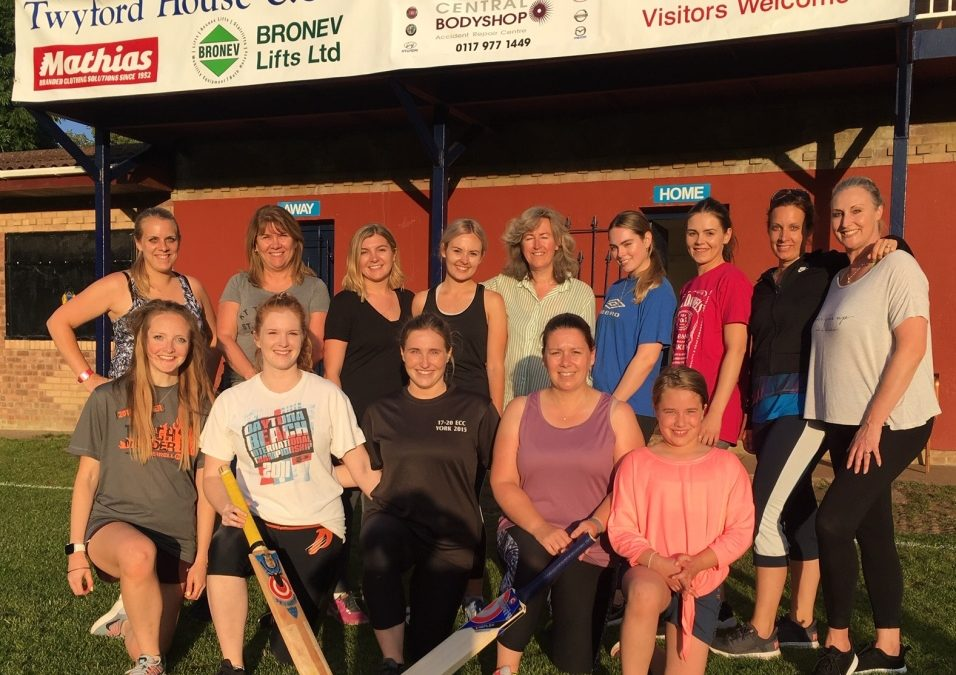 Women's Soft Ball taking off at Twyford House