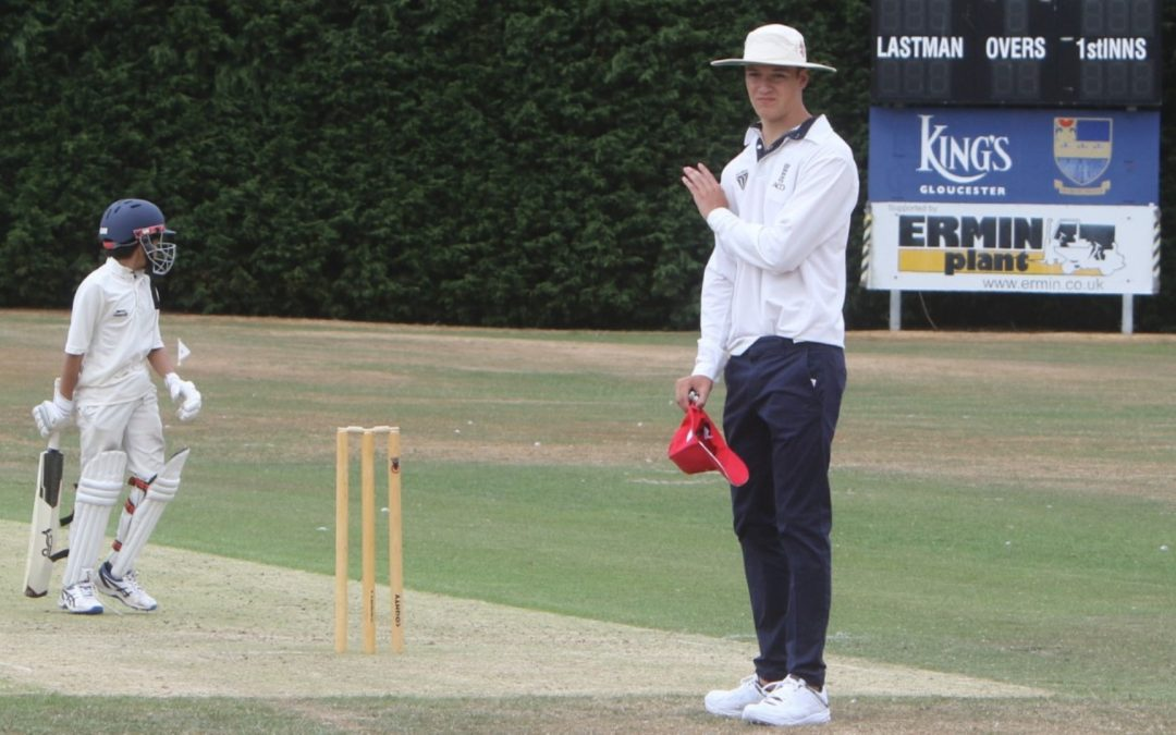 Young people encouraged to take up umpiring