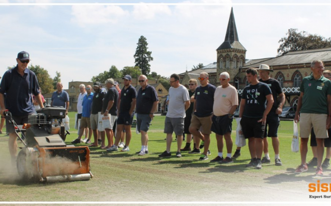 130 groundsman attend Dennis & SISIS event at Cheltenham College