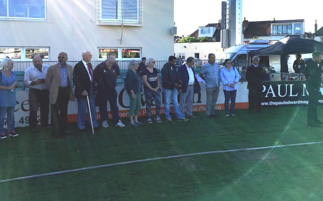 2018 OSCA Winners Honoured at Gloucestershire T20 Match