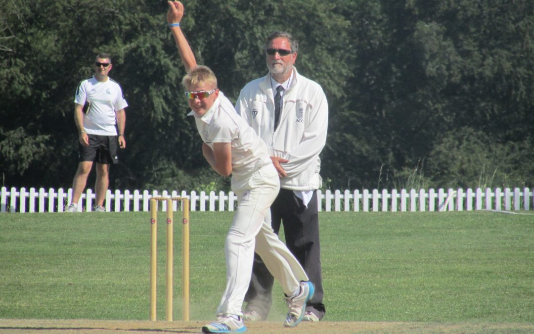 Under 15 Boys secure home quarter with Somerset win
