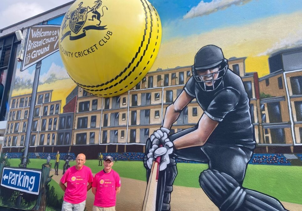 Walking from Bristol to Lord's for brain tumour research